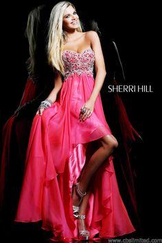 Sherri Hill's 2014 Prom Dress | Sherri Hill 3869 Prom Dress - 2013 Prom Gowns