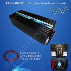 """""""24V 6KW solar inverter, 24v/220v pure sine wave inverter, 6000W invertor for air conditioner"""""""