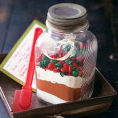 Fudgy Brownie Mix In A Jar from Land O'Lakes
