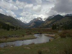Gorgeous pic of Estes Park, Colorado!
