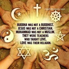 This is why I'm a God Believer, Jesus Follower, and Holy Spirit Lover but NO I don't follow any Religion! I don't trust people and their words...
