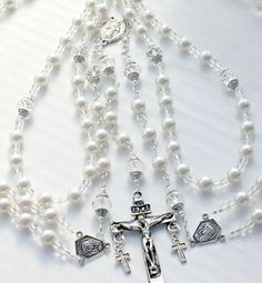 Unique Rosaries | Custom Rosary Wedding Lasso Wedding Lazo by Theinvisibleprince, $85.00
