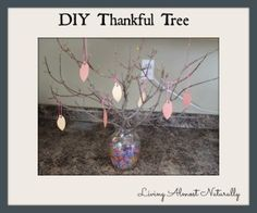 DIY Thankful Tree