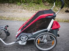 #child trailer for bike #bike trailers for babies #trailer bikes #best bike trailers #bike trailers for sale #kids trailer bike My daughter in there and safe