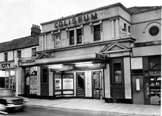 The Coliseum cinema, Cowbridge Road East, Canton, in 1972 New Cinema, Cinema Theatre, Cinema Architecture, New Oxford, Cardiff Wales, Oxford Street, Old Photos, City, World