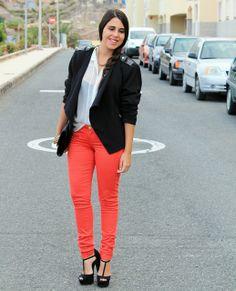 Look: Red Pants - Elsa Gervasi - Trendtation
