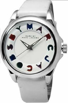 Marc Jacobs MBM1190 Marc by Marc Jacobs. $159.35. New MARC BY MARC JACOBS MBM1190 Men's Women's Bubble White Dial White Leather Strap Watch. Save 36% Off!