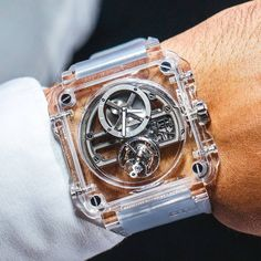 See through time | The Bell & Ross BR-X1 skeleton tourbillon sapphire