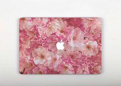 Pink Stickers MacBook 13 inch MacBook Sleeve Flowers by SkinGears Macbook Pro 13 Inch, Macbook Pro Case, Macbook Air 11, Laptop Case, Mac Laptop, Macbook Skin, Macbook Sleeve, Laptop Skin, Pink Peonies
