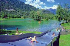 Ried im Oberinntal, Tirol Oostenrijk, ook klimparcours en andere kindervoorzieningen