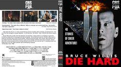 Die Hard version 1 Blu-ray Custom Cover Fox Video, Die Hard, Cover Design, Movie Posters, Film Poster, Book Cover Design, Cover Art, Film Posters