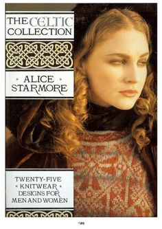 Knitting Books, The Celtic Collection by Alice Starmore Knitting Patterns 25 Designs for How to Knit Sweaters Cardigans Jackets Adult Child Easy Knitting Patterns, Knitting Designs, Knitting Projects, Simple Knitting, Knitting Ideas, Knitting Books, Crochet Books, Knitting Magazine, Crochet Magazine