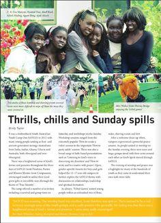 Thrills, chills and Sunday spills // SAYCO 2012