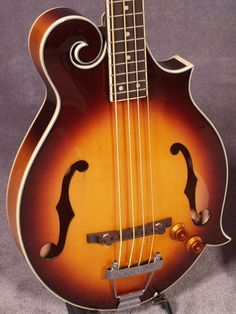 mandolin-shaped bass