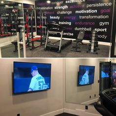 A daily workout has a long list of proven health benefits. In the home gym at 23 Windermere, from and you'll look forward to your workout every day! 20 Minute Workout, Motivation Goals, Windermere, Health Benefits, Challenges, Interiors, Gym, 20 Min Workout, Decoration Home