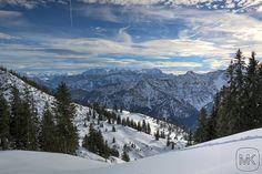 Rauschberg; HDR; Herrliche Sicht; Oberbayern; #Ruhpolding #Bayern #Berge #Mountain #Snow #HDR