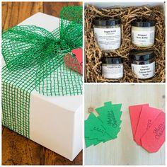 Organic Spa Gift Set  Christmas Gift Set  by BeatnikNaturals