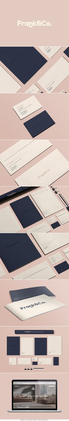 Minimal corporate business card letter head envelope logo graphic design brochure colors