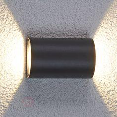 Halfronde led-buitenwandlamp Jale, 2x5 W 9618016