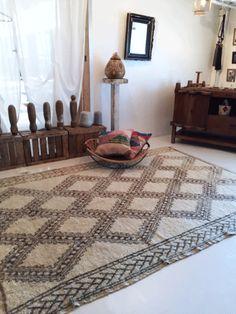 モロッコラグ ボ・シャルウィット ボ・シャラウィット アジラル beni ouarain ベニワレン ウール フレンチモロッコ モロッコ 絨緞 ベルベル