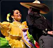 Jarabe Tapatio, Mexican Hat Dance, bailable, Ballet Folklorico Huehuecoyotl