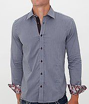 Eight X Paisley Trim Shirt