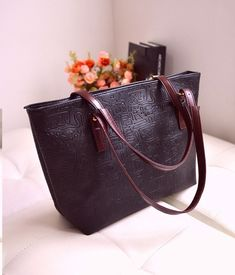3ad7394ae0f49 Loshaka New Casual Women Tote New Oracle Women Bag PU Leather Vintage Bag  Solid Multiple Colors Women Shoulder Bag