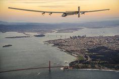 """El avión solar """"Impulse 2"""" reanuda su vuelta al mundo sin usar combustible - http://verdenoticias.org/index.php/blog-noticias-energias-renovables/277-el-avion-solar-impulse-2-reanuda-su-vuelta-al-mundo-sin-usar-combustible"""