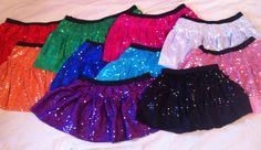 Running skirts. $25.00, via Etsy.