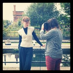 Image from our recent photoshoot! Twitter / Recent images by @Purl Alpaca Designs