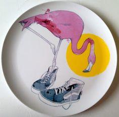 Lucas Grogan plate design for Douglas & Hope