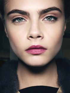 This fall, it's all about the brows  #beauty #brows #caradelevingne