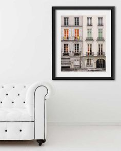 Extra Large Wall Art Paris Print Oversized by TheParisPrintShop Orange Wall Art, Orange Walls, Large Wall Prints, Wall Art Prints, Paris Photography, Fine Art Photography, Paris Architecture, Paris Decor, Thing 1