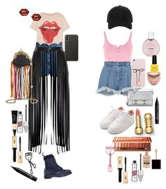 Untitled #16 by justpaulla on Polyvore featuring polyvore fashion style MadeWorn Topshop Ksenia Schnaider Valentino Off-White Gucci Proenza Schouler George J. Love rag & bone Apple Yves Saint Laurent NARS Cosmetics Wet n Wild Too Faced Cosmetics NYX Chanel clothing