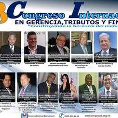 La Recosrec con su conferencista de México, presente en el Congreso