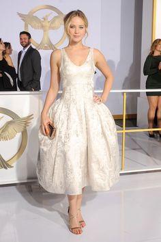 Jennifer Lawrence BEST DRESSED LIST AT THE HUNGER GAMES LA PREMIERE BELLA DONNA