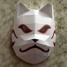 Tektonten Papercraft - Free Papercraft, Paper Models and Paper Toys: Naruto Papercraft: Kakashi's ANBU Mask