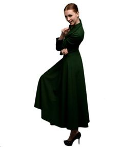 Teenloveme 2013 New Arrival Women's Fashion Long Sleeves Sheath Wool Coat Dress, Green, S Teenloveme,http://www.amazon.com/dp/B00A64TZD8/ref=cm_sw_r_pi_dp_izScsb0BXX0MZ9BH