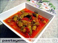 Zeytinyağlı Bamya resimli yemek tarifi, Zeytinyağlılar tarifleri