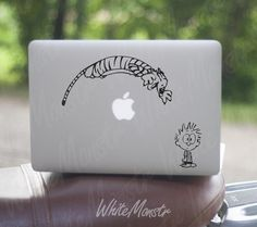 calvin and hobbes --when I get a laptop I am getting this.