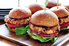 Grilled Buffalo Chicken Burgers  https://kalamazoogourmet.com/lifestyle/recipes/buffalo-chicken-burgers/