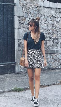 Looks - Look and Chic Summer Outfits, Casual Outfits, Fashion Outfits, Womens Fashion, Outfit Vestidos, Animal Print Outfits, Sport Outfit, Sport Chic, Perfect Woman