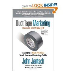 LOVE the tips & ideas in Duct Tape Marketing