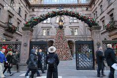 Arbol de Navidad en Nueva York hotel Lotte