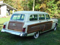 1954 Mercury Monterey station wagon