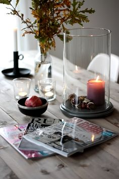 Nice and simple decor, warm details for your dining area. More tips: http://FengShui.About.com