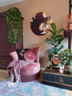 Casa Retro, Living Room Decor, Bedroom Decor, Eclectic Decor, Eclectic Design, Cozy House, Home Decor Inspiration, Home Interior Design, House Design
