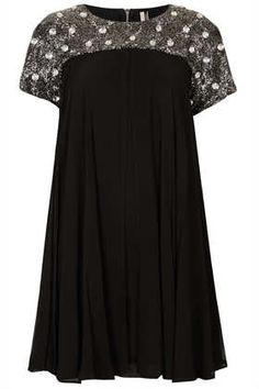 Emellished Armour Shift Dress #dearTopshop