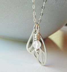 Sterling Silver Necklace / Sterling Silver by SilverorBronze, $29.00