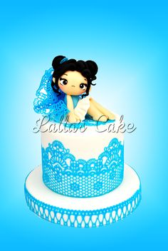 Fairy Lace  cake design / pasta di zucchero / sugar paste